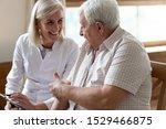 Elderly 80s Man Patient And...