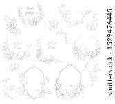 vector geometric hand drawn...   Shutterstock .eps vector #1529476445