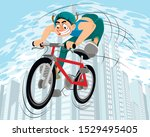 vector illustration of a... | Shutterstock .eps vector #1529495405