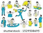 vector illustration character... | Shutterstock .eps vector #1529508695