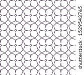 seamless geometric ornamental... | Shutterstock .eps vector #1529543765