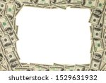 Us Dollar Money Frame Mockup...