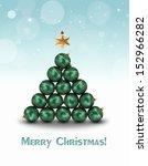 abstract illustration  green...   Shutterstock . vector #152966282