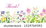 Floral Watercolor Background...