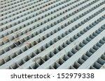 grate of drain cover on street. | Shutterstock . vector #152979338