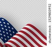 waving flag of the united... | Shutterstock .eps vector #1529803952