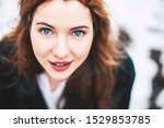 Great Young Woman Portrait With ...