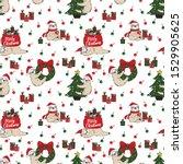 christmas holiday vector... | Shutterstock .eps vector #1529905625