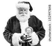 An Authentic Santa Claus Holds...