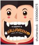vintage halloween poster design ...   Shutterstock .eps vector #1530006575