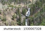 Wide View Of Undine Falls In...