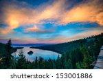 High Angle View Of A Lake  Lak...