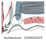 creative texture with abstract... | Shutterstock . vector #1530023225