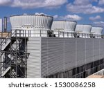 Large Industrial Cooling Tower...