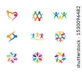 community vector icon... | Shutterstock .eps vector #1530096482