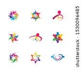 community vector icon... | Shutterstock .eps vector #1530096485