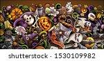 cartoon cute colorful vector... | Shutterstock .eps vector #1530109982