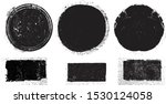 grunge post stamps collection ...   Shutterstock .eps vector #1530124058