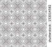 vector seamless abstract line... | Shutterstock .eps vector #153014582