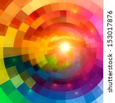 abstract colorful shining... | Shutterstock .eps vector #153017876