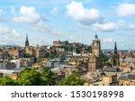 Edinburgh Scotland Skyline ...