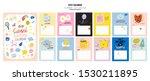 happy birthday wall calendar.... | Shutterstock .eps vector #1530211895