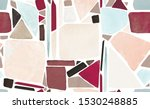 mosaic. seamless pattern with... | Shutterstock . vector #1530248885