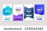 dynamic modern fluid mobile for ... | Shutterstock .eps vector #1530269282