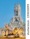 cibeles fountain located... | Shutterstock . vector #153033095