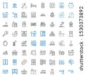 house icons set. collection of...   Shutterstock .eps vector #1530373892
