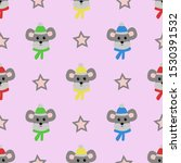 Seamless Pattern With Mouse On...