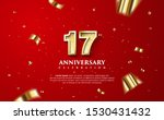 17th anniversary celebration... | Shutterstock .eps vector #1530431432