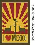 mexico background  vector | Shutterstock .eps vector #153047042