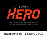 comics super hero style font... | Shutterstock .eps vector #1530477902