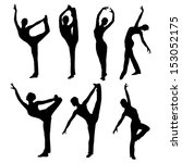 Silhouette Dance Vector Images...