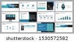 business presentation design... | Shutterstock .eps vector #1530572582