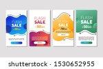 dynamic modern fluid mobile for ... | Shutterstock .eps vector #1530652955