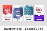 dynamic modern fluid mobile for ... | Shutterstock .eps vector #1530652958