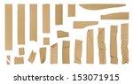 adhesive tape set | Shutterstock . vector #153071915