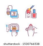stages manicure procedure color ...