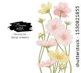 sketch floral botany collection.... | Shutterstock .eps vector #1530821855