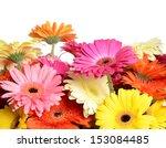 the bouquet gerbera flower as a ...