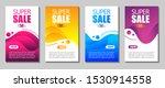 vector modern fluid for big... | Shutterstock .eps vector #1530914558