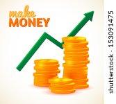 up column of diagram | Shutterstock .eps vector #153091475