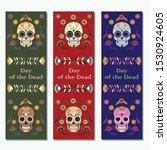 a set of vector bookmarks... | Shutterstock .eps vector #1530924605