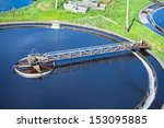 primary sedimentation basin ... | Shutterstock . vector #153095885