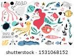 big marine vector set of...   Shutterstock .eps vector #1531068152