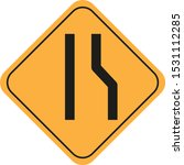 traffic sign vector eps 11   Shutterstock .eps vector #1531112285