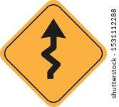 traffic sign vector eps 11   Shutterstock .eps vector #1531112288