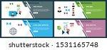 vector set of vertical web... | Shutterstock .eps vector #1531165748